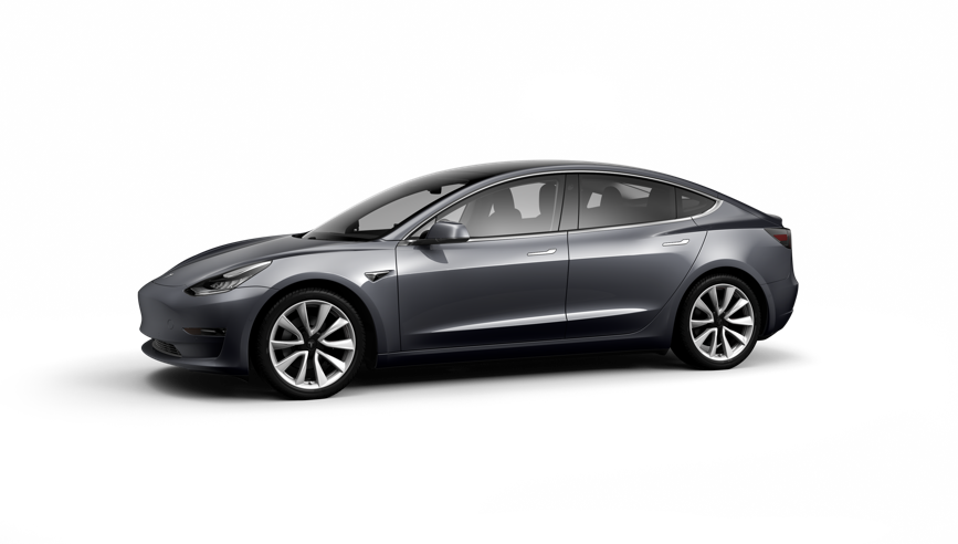 Tesla Model 3 Saloon Standard Plus 4dr Automatic on a 12 Month Car Lease