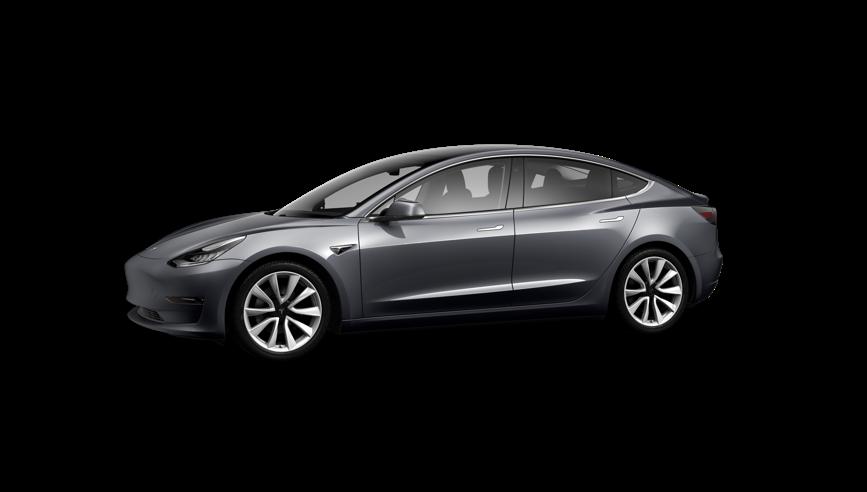 Tesla Model 3 Saloon Standard Plus 4dr Automatic on a 12 Month Car Lease