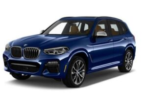 BMW X3 Estate xDrive 20i M Sport 5dr Automatic on a 12 Month Car Lease