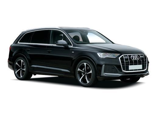 Audi Q7 Estate 55 TFSI e Quattro S Line 5dr Auto on a 12 Month Car Lease
