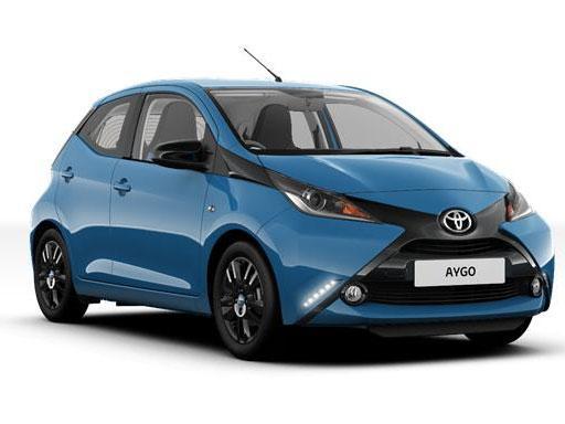 Toyota Aygo Hatchback 1.0 VVT-I 5dr Manual on a 12 Month Car Lease
