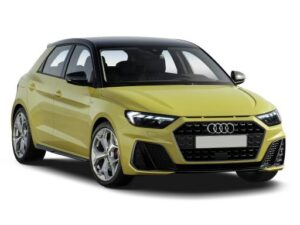 Audi A1 Sportback 25 TFSI S Line 5dr Manual on a 12 Month Car Lease