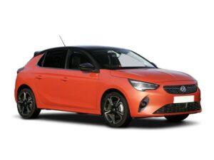 Vauxhall Corsa Hatchback E 100 kW Sri Nav Premium 50kWh (7.4kWCh) 5dr Auto on a 12 Month Car Lease