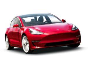 Tesla Model 3 Saloon Standard Range Plus MY2021 4dr Auto on a 12 Month Car Lease